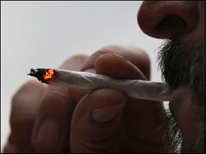 The federal government is studying the effects of smoking marijuana on driving performance.