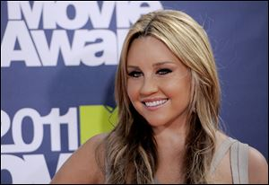 Actress Amanda Bynes was sentenced to three years of probation and three months of attending alcohol education classes.