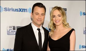 Jimmy Kimmel and Molly McNearney are expecting their first child together, his rep Lewis Kay confirmed Monday.