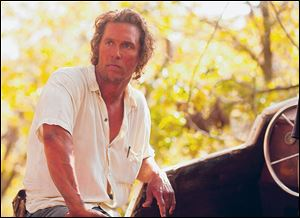 McConaughey as the title-character loner in 'Mud.'