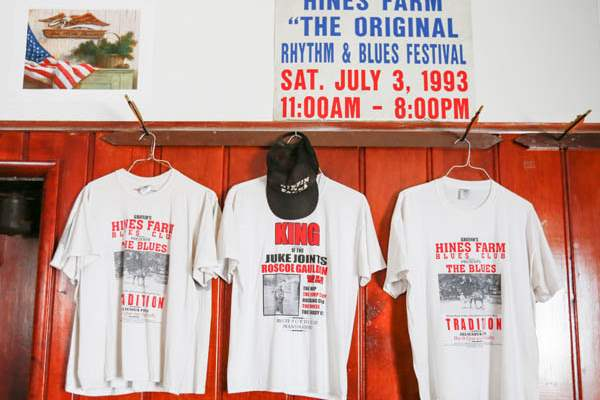 Hines-Farm-Blues-Club-T-shirts-on-the-wall-of-the-club