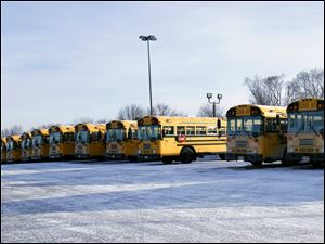 Many TPS busses suffered maintenance issues from the cold.
