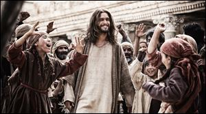 'Son of God' opened in Toledo area theaters Friday.