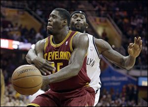 Cleveland Cavaliers' Anthony Bennett, the top pick in the draft last year, is averaging 4.0 points and 3.1 rebounds in 12.9 minutes a game.