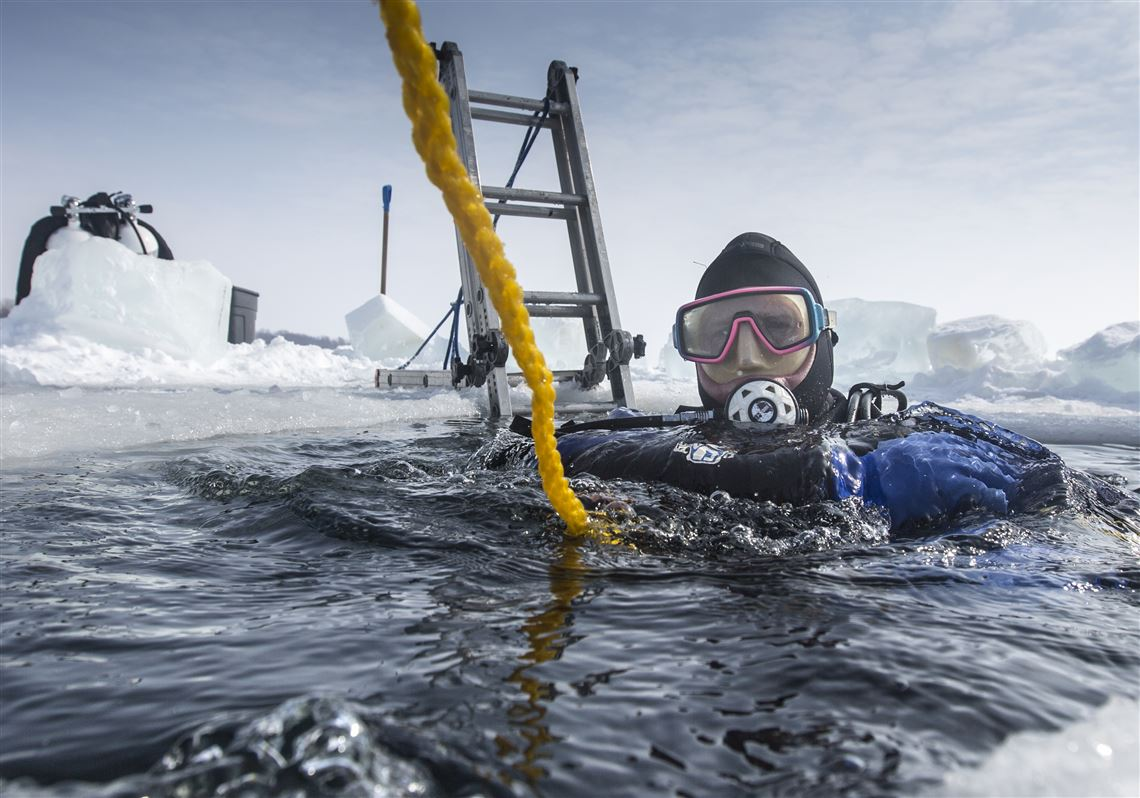 A cool 34° plunge into Lake Erie | Toledo Blade