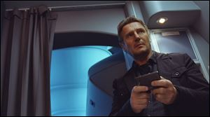 Liam Neeson in a scene from 'Non-Stop.'
