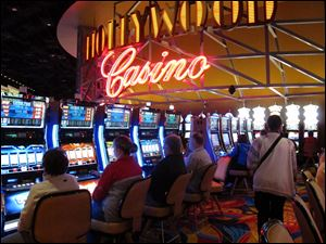 If current revenues hold through March, the four voter-approved casinos in Ohio will be on track for revenues of nearly $900 million during the first full year they've all been operating.