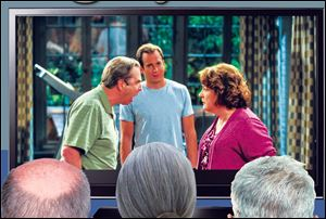 """The Millers,""€™ which is the highest rated new comedy of the season, stars Will Arnett and Beau Bridges and Margo Martindale as his parents."