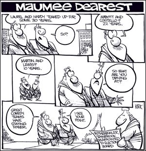 Kirk Walters' Maumee Dearest: Board of Elections