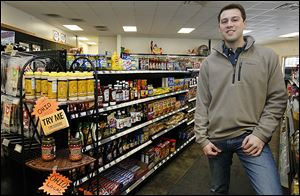Zac Oswald wants the family owned Ozzie's General Store in Richfield Township to become a destination for customers looking for products made by local and Ohio businesses.