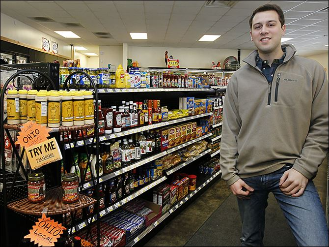 b4fozziesb-1 Zac Oswald wants the family owned Ozzie's General Store in Richfield Township to become a destination for customers looking for products made by local and Ohio businesses.