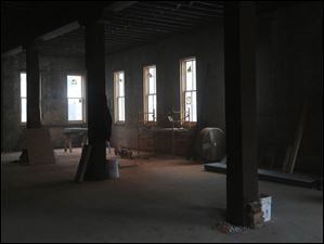 This room will be the site of the brew works.