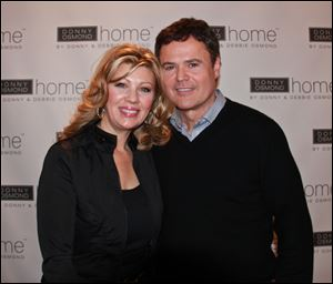 Debbie and Donny Osmond launched the Donny Osmond Home Collection during the Las Vegas Furniture Market.