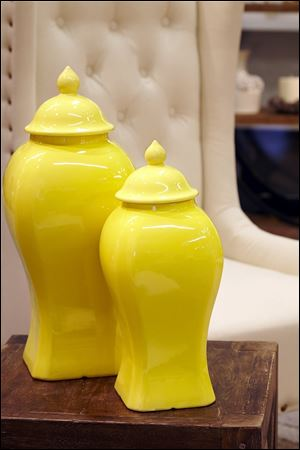 Decorative jars from the Donny Osmond Home Collection.