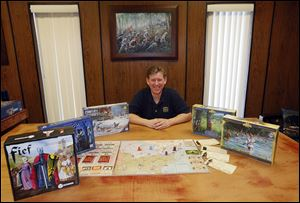 Uwe Eickert founded Academy Games in 2008. The company has published eight board games and plans to release five more.