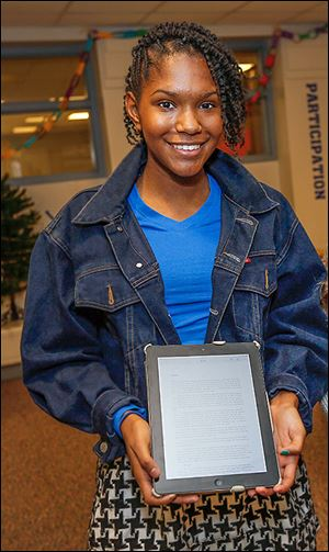 Eighth grader KnowEl Willhight is a winner of the 2014 Dr. Martin Luther King, Jr., Art, Writing, and Multimedia Contest.