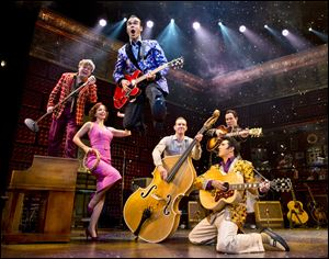 The national tour of 'Million Dollar Quartet' comes to the Stranahan Theater starting March 20.
