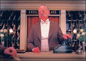 Bill Murray makes another appearance in a Wes Anderson film, this time in 'The Grand Budapest Hotel.'