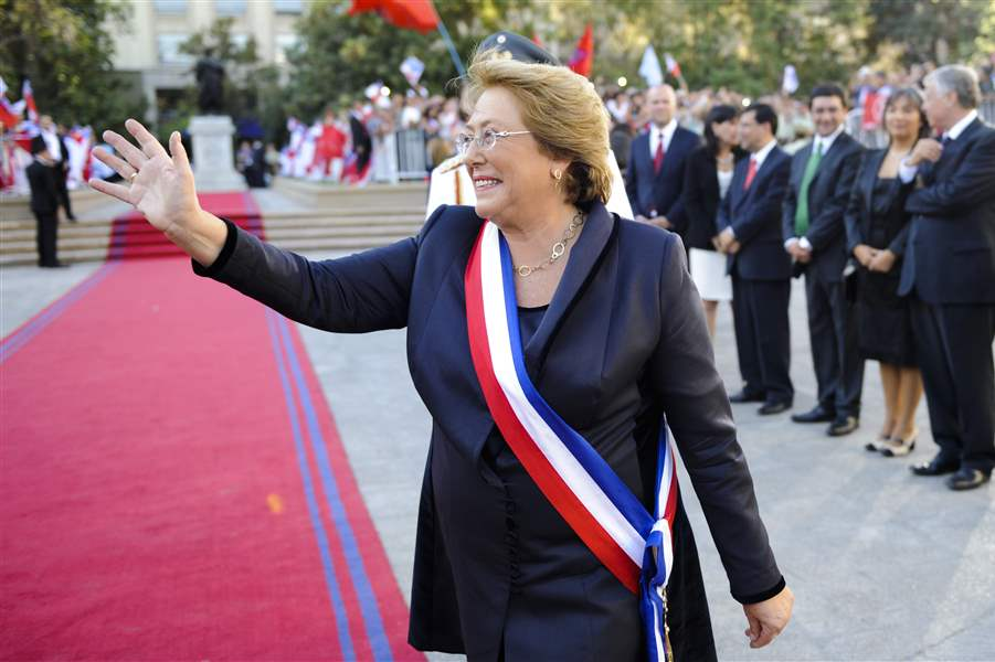 Chile-Bachelet-Inauguration-3