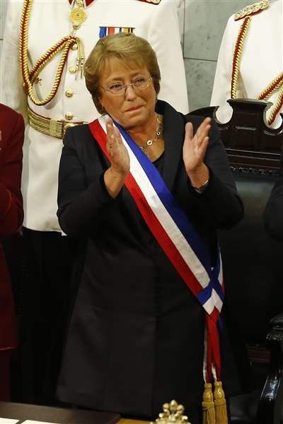 Chile-Bachelet-Inauguration-5