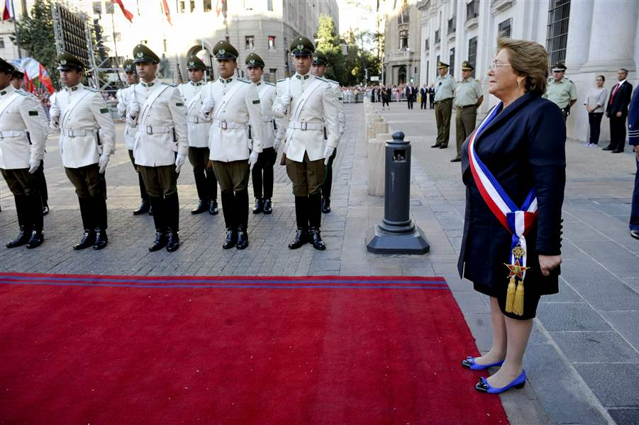 Chile-Bachelet-Inauguration-1