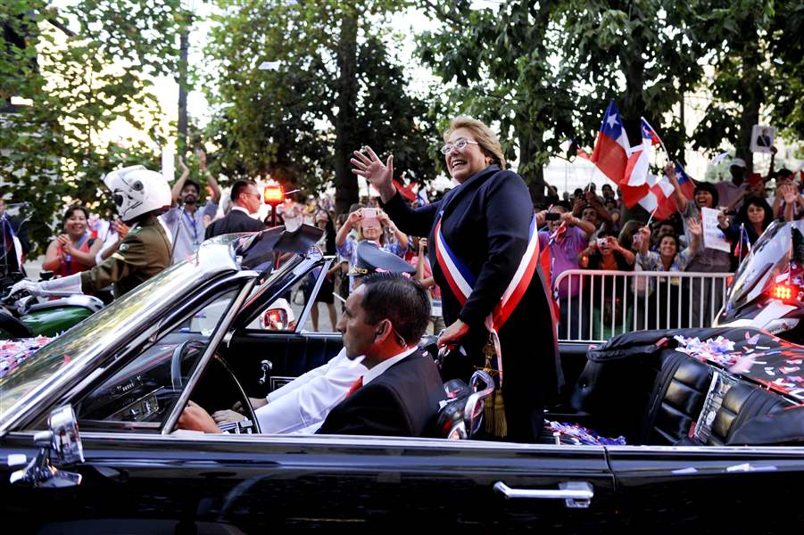 Chile-Bachelet-Inauguration-4