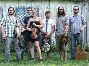 Ann Arbor Bluegrass band Dragon Wagon will play at the Blarney Irish Pub Monday.