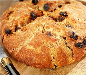 Brown soda bread.