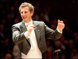 Giordano Bellincampi will conduct the Toledo Symphony Classics concerts at 8 p.m. March 21 and 22 in the Peristyle.