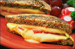 The Grilled Cheese Recipe Showdown begins April 1 and ends May 12.