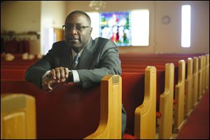 The Rev. Derek Arnold, Pastor of Bethlehem Baptist Church, is celebrating his 20th anniversary as minister.