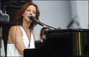 Multiplatinum singer-songwriter Sarah McLachlan returns to the Toledo Concert series at 7:30 p.m. July 13