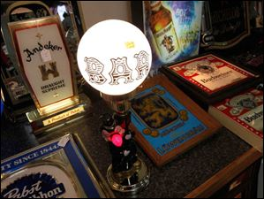 A Bar lamp for sale.