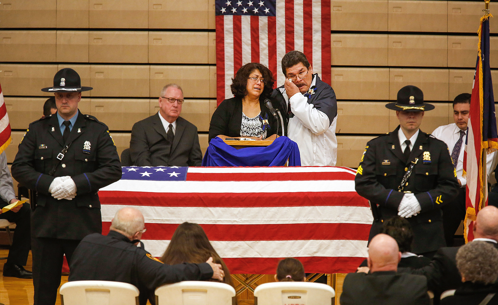 Elmore Police Officer Honored At Service The Blade