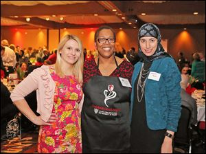 Celebrity Wait Night: Marissa Camner, Dr. Amanda Bryant-Friedrich and Tamain Baiz.