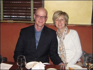 Don and Barb Rettig. Don is President of the OC Foundation. OC provided sponsorship for the event
