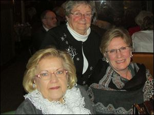 Theresa Shultz, Joly Apgar, and Tootie Morrette.