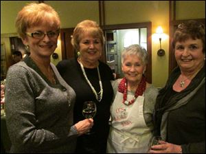 Nancy Helminski, Marsha Cyranowski, Mary Murnen, and Joan Nicholson.
