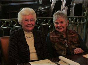 Mary Keil and Ann Welly.