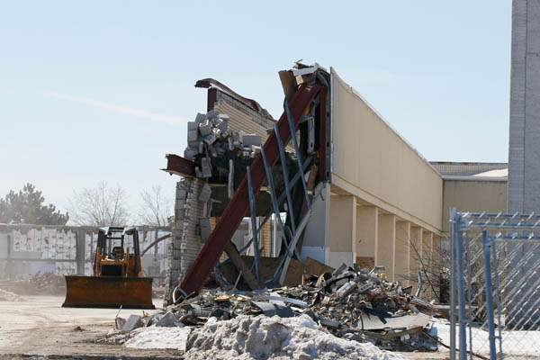 Demolition-Woodville-Mall