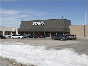 The Sears store at the former Woodville Mall in Northwood was the last retailer at the once-bustling mall.  The store will close in July.