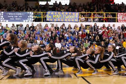 The-Southview-High-School-dance-team-performs-durin