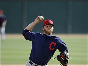 Cleveland Indians' Cody Allen tied for sixth in the AL's rookie of the year voting and likely will be Cleveland's closer in waiting.