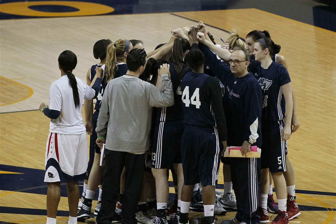 NCAA-RMU-huddle