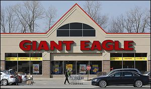 The Giant Eagle store on West Central Avenue in Sylvania Township opened in 2003, two years after the company's store in Rossford at Crossroads Centre. Both will close May 3, the chain said Friday.