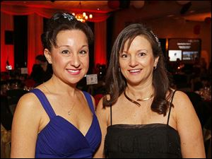 Julie Roberts, left, and Dr. Laura Murphy.