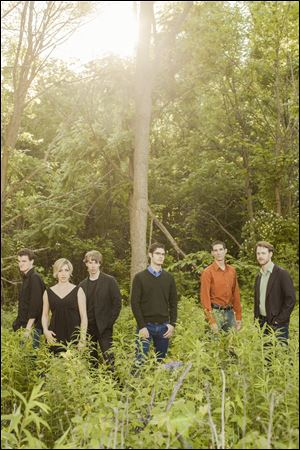 The new music ensemble Latitude 49 performs at 7 p.m. April 3 at UT. For more information, call 419-530-2448.
