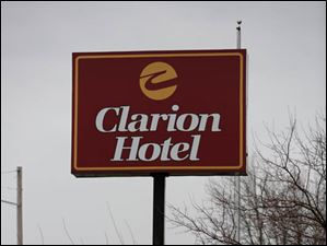 The former Clarion Hotel on Reynolds Road.
