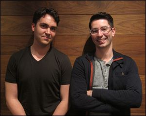David Byttow, left, and Chrys Bader-Wechseler co-founded Secret, a new app that lets people share anonymous posts with their friends and friends of friends.