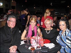 Pam and Barb Bettinger with friends